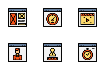 Website Element Icon Pack