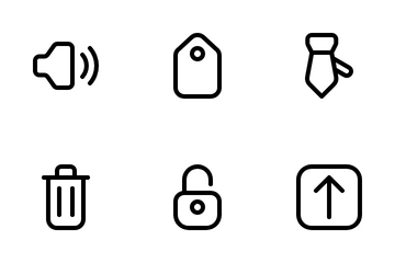 Website Interface Icon Pack
