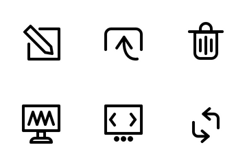Website UI Icon Pack
