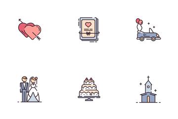 Wedding Icon Pack