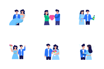Wedding And Love Icon Pack