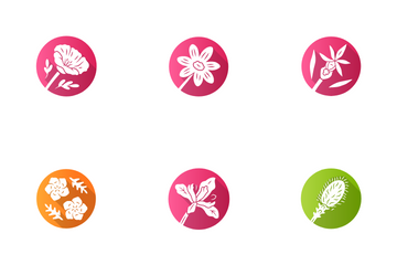 Wild Flowers Icon Pack