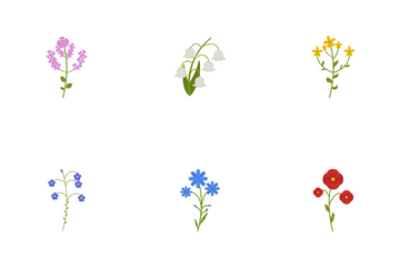 Wildflowers Icon Pack