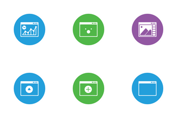 Window Layout Icon Pack