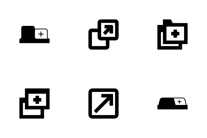 Window Navigation Icon Pack