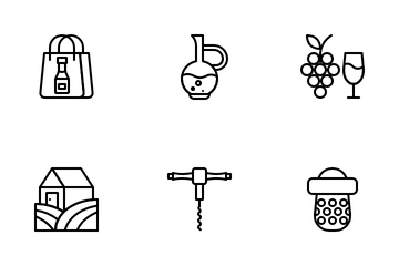 Wine Icon Pack