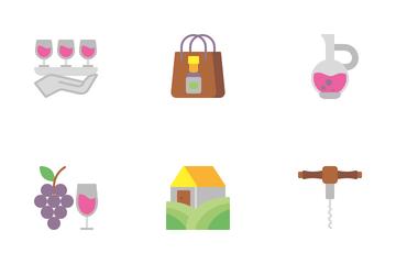 Wine Icon Pack