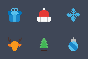 Winter And Christmas Icon Pack