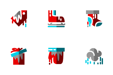 Winter Flat Icon Pack