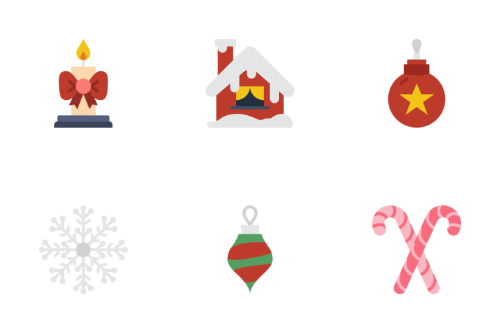 Winter - Flat Icon Pack