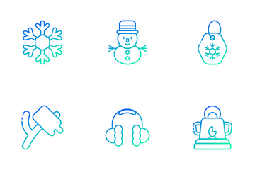 Winter Holiday Icon Pack