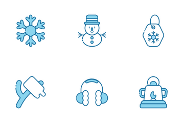 Winter Holidays Icon Pack