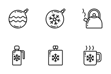 Winter - Outline Icon Pack