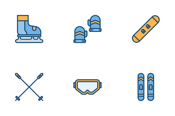 Winter Sports Icon Pack