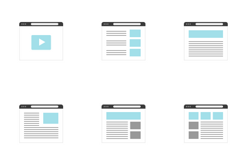 Wireframe Icon Pack