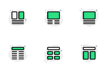 Wireframe Vol 1 Icon Pack