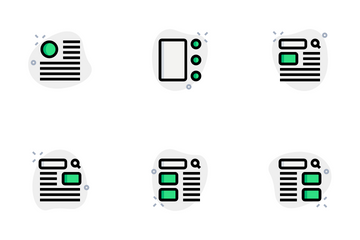 Wireframe Vol 2 Icon Pack