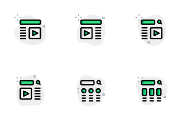 Wireframe Vol 3 Icon Pack