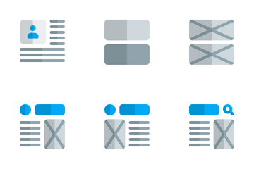 Wireframe Vol 4 Icon Pack