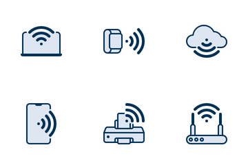 Wireless Network Icon Pack