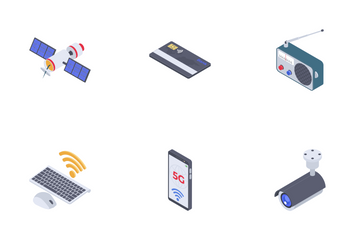 Wireless Technologies Icon Pack