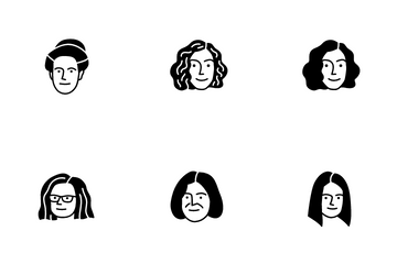 Woman 1 Icon Pack
