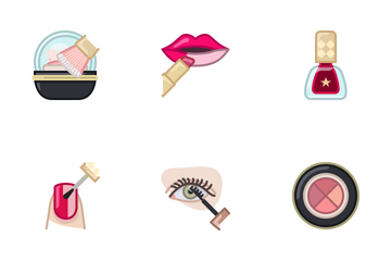 Woman Beauty Icon Pack