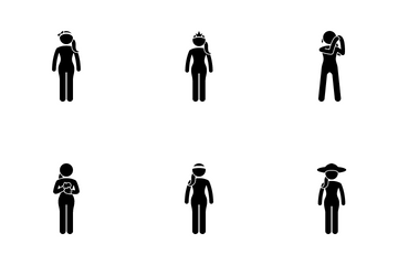 Women Accessories Icon Pack