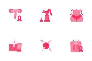 Women Health Icon Pack