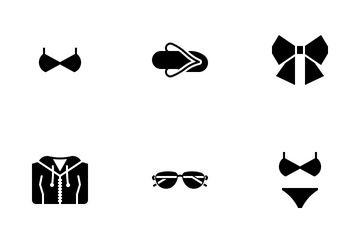 Women's Clothing Icon Pack