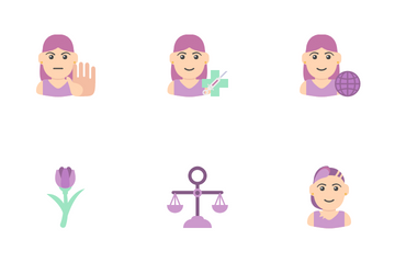 Women's Day Icon Pack