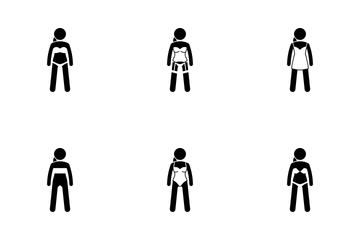 Women Underwear Icon Pack