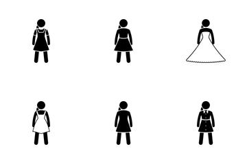 Women Wear Icon Pack