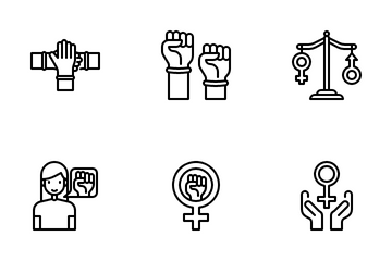 Womens Day Icon Pack