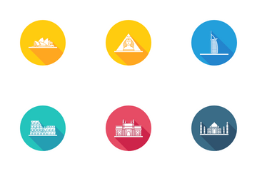 Wonders Of World Icon Pack