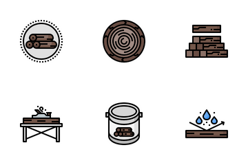 Wood Icon Pack