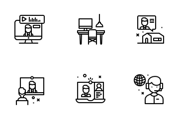 Work From Home Icon Pack