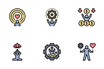Work Life Balance Icon Pack