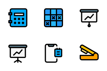 Work Office Icon Pack