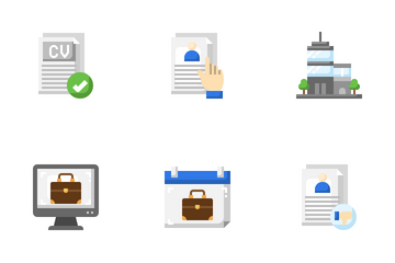 Work Office And Jobs Icon Pack