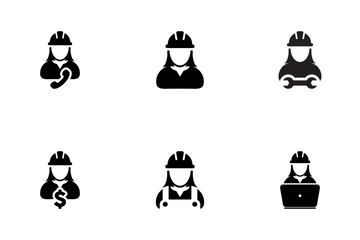 Worker Icon Pack