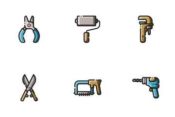 Working Tools Icon Pack