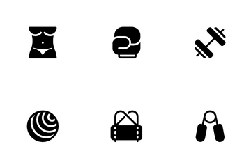 Workout & Gym Icon Pack