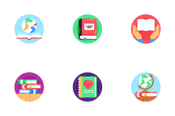 World Book Day Icon Pack