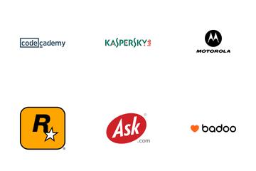 World Brand Logos Vol 9 Icon Pack