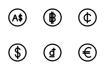 World Currency Icon Pack