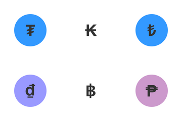 World Currency Symbols    Icon Pack