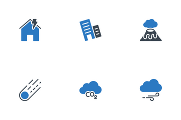 World Disaster Icon Pack