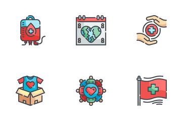World Humanitarian Day Icon Pack