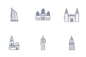 World Landmark Vol 1 Icon Pack
